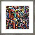 Passage Framed Print by Chaline Ouellet