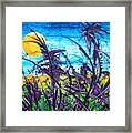 Patch Of Field Grass Framed Print