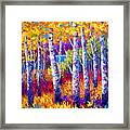 Path To The Lake Framed Print by Marion Rose