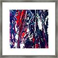 Patriot Forest Framed Print