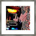 Patriotic Tavern Framed Print