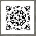 Pattern Art 01-2 Framed Print