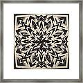 Pattern Creation Framed Print