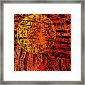 Patterns In The Sun Framed Print