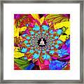 Peace Buddha Meditation Framed Print