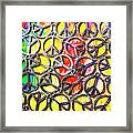 Peace In All Colours Framed Print