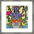 Matsya An Avatar Of Hundi God Vishnu  Framed Print