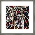 Pearls 3 Framed Print