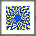 Peripheral Drift Illusion  Framed Print