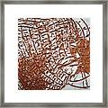 Perspectives - Tile Framed Print