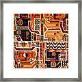Peru: Tunic Fragment Framed Print