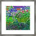 Petal Pusher Framed Print