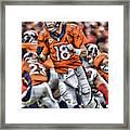 Peyton Manning Art 2 Framed Print