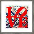 Philly Love V17 Framed Print