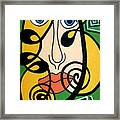 Picasso Influence Framed Print