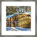 Pilot Rock Iowa Framed Print