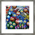 Pinball Wizard-the Signs Of The Times Collection Framed Print
