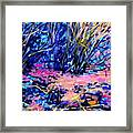 Pink Algae Framed Print