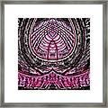Pink World Or Enlightenment Framed Print