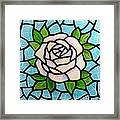 Pinkish Rose Framed Print