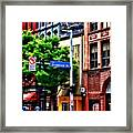 Pittsburgh Pa - Liberty Ave And Smithfield Street Framed Print