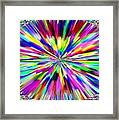 Pizzazz 19 Framed Print