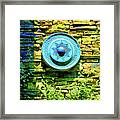 Plate Of Stone Framed Print