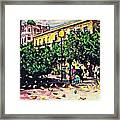 Plaza In Murcia Framed Print