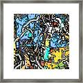 Point Framed Print by Dave Kwinter