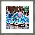 Pool Party Sold Framed Print