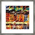 Portofino - Liguria Italy Framed Print