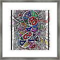 Portrait Of Giggling Colors Framed Print