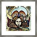 Portrait With Nature # 4 Framed Print