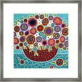 Pot Of Bloomers Framed Print