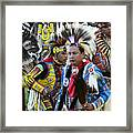 Pow Wow Back In Time 1 Framed Print
