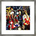 Pow Wow Beauty Of The Past 5 Framed Print