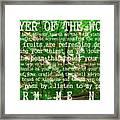 Prayer Of The Woods 2.0 Framed Print