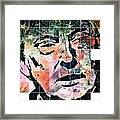 President Of The United States Donald Trump Framed Print
