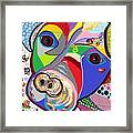 Pretty Pitty Framed Print