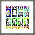 'prime Ministers Question Time X 16' Framed Print