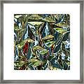 Prismic Jungle Framed Print