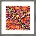 Protein Synthesis 15-19 Framed Print