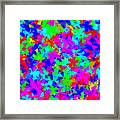Psychedelic Butterflies Framed Print