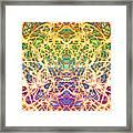 Psychedelic Drug Trip Framed Print