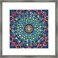 Psychedelic Mandala Framed Print