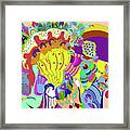 Psychedellic Pinch Framed Print
