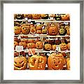 Pumpkin Festival. Framed Print