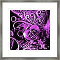 Purple Heart Collection Framed Print