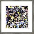 Puzzle Piece Abstract Framed Print