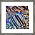 Pvc Abstract Framed Print